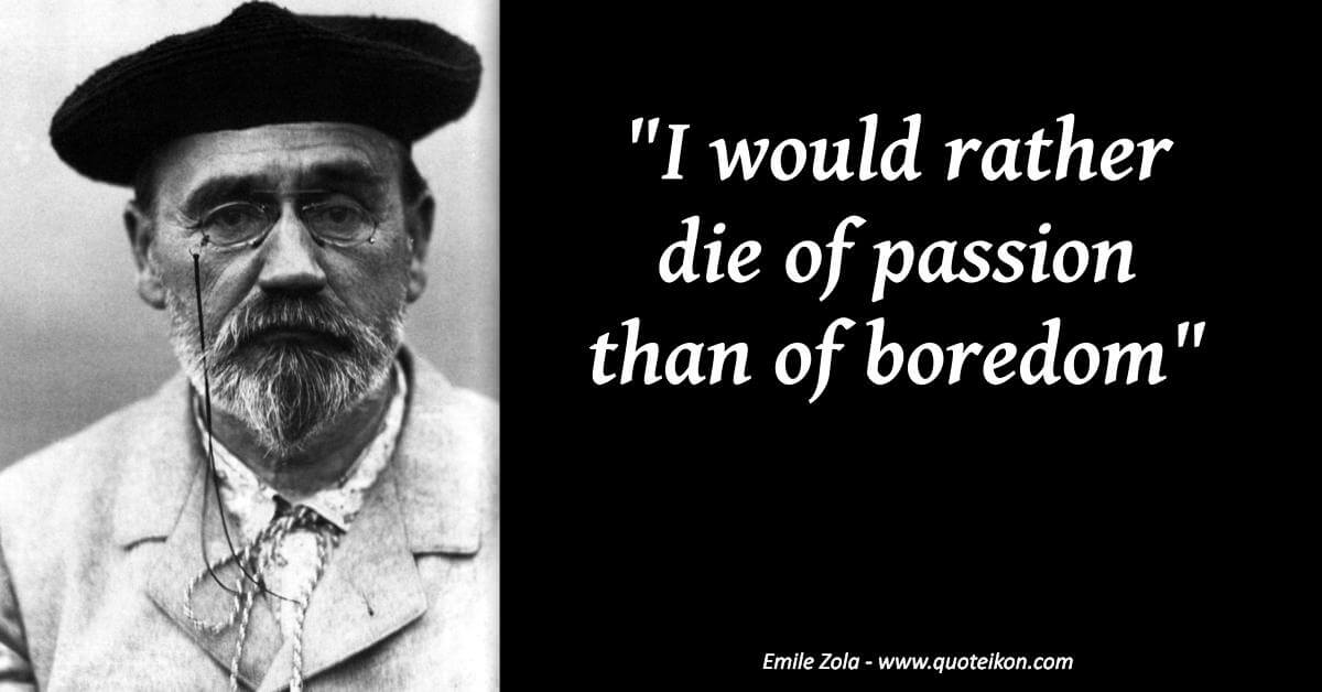 Emile Zola image quote
