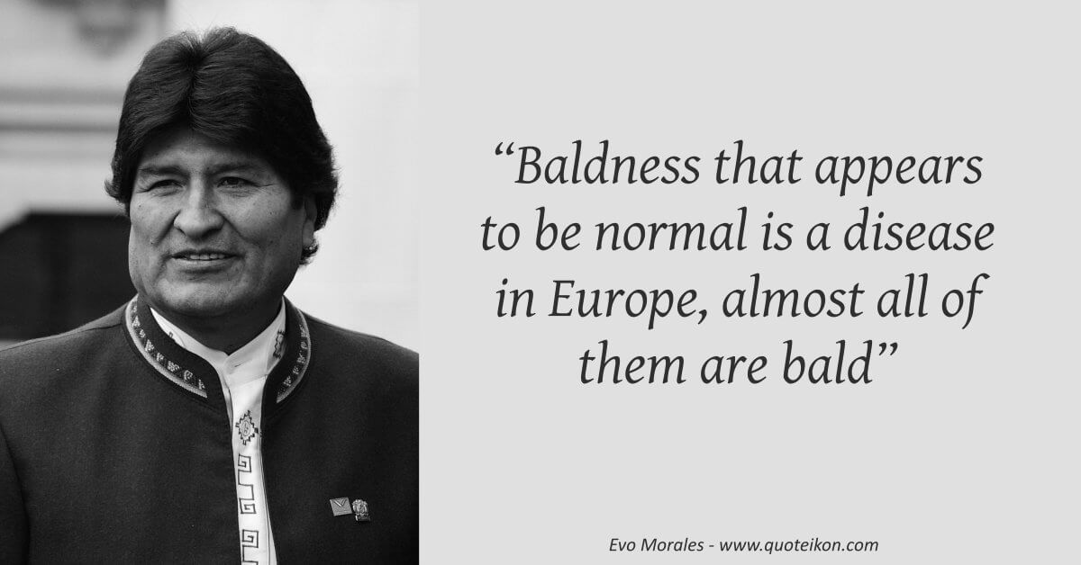 Evo Morales image quote