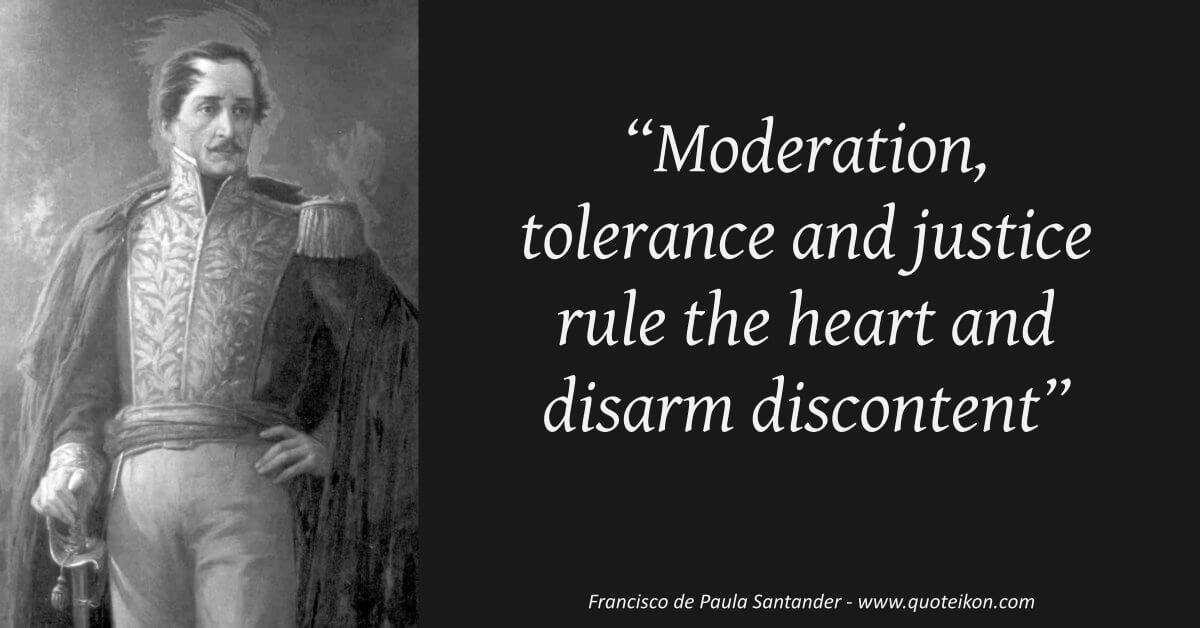 Francisco de Paula Santander image quote