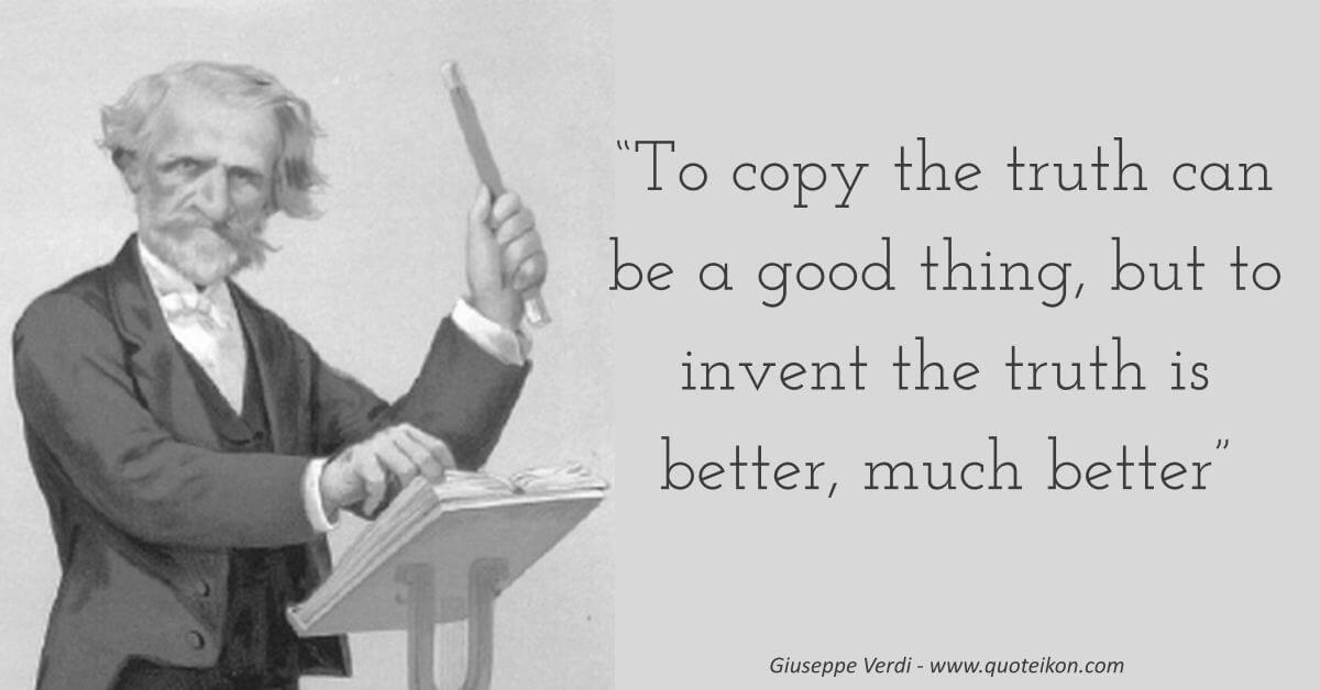 Giuseppe Verdi image quote