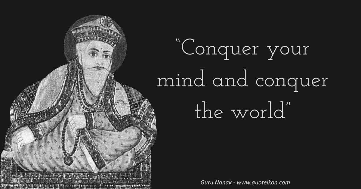 Guru Nanak image quote