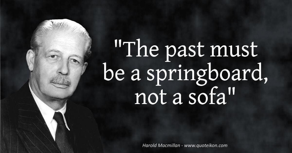 Harold Macmillan  image quote