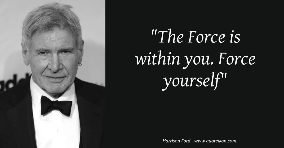 Harrison Ford  image quote