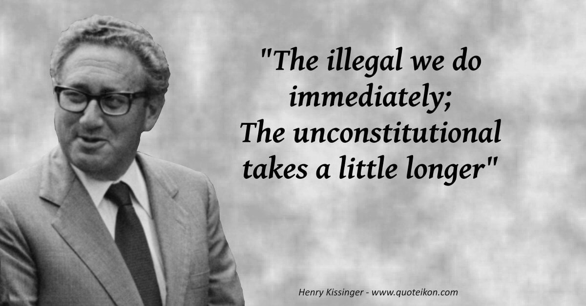 Henry Kissinger  image quote