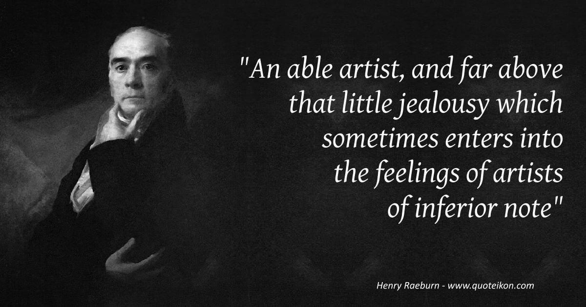 Henry Raeburn  image quote