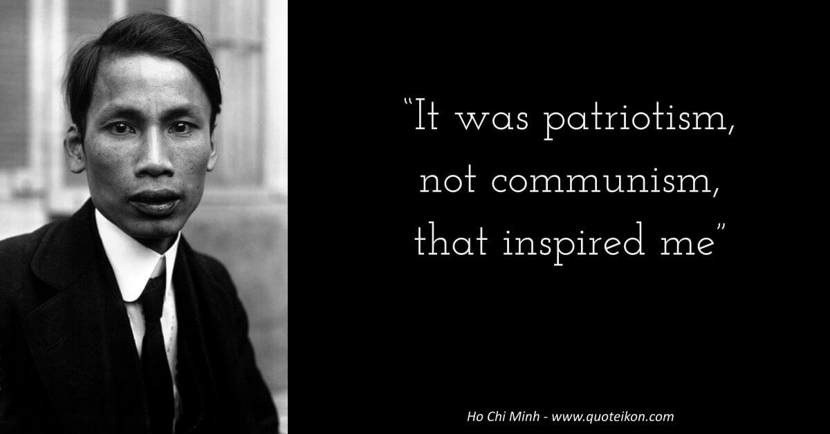 Ho Chi Minh  image quote