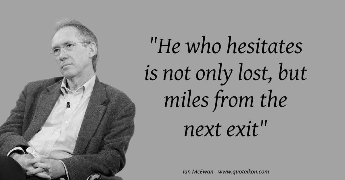Ian McEwan  image quote