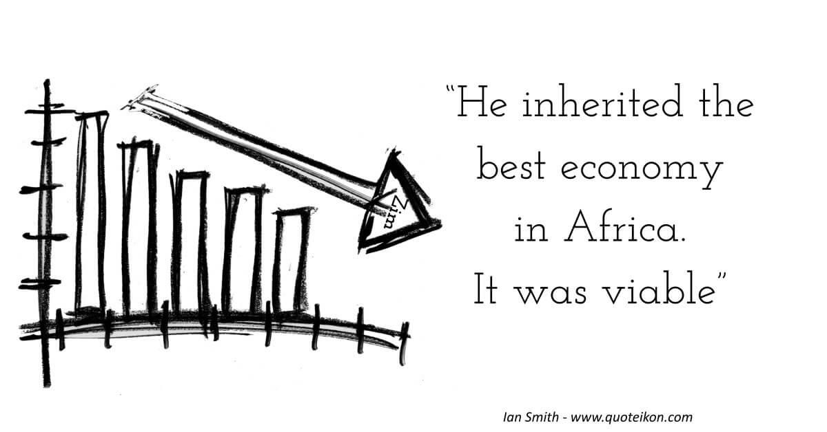 Ian Smith Quote