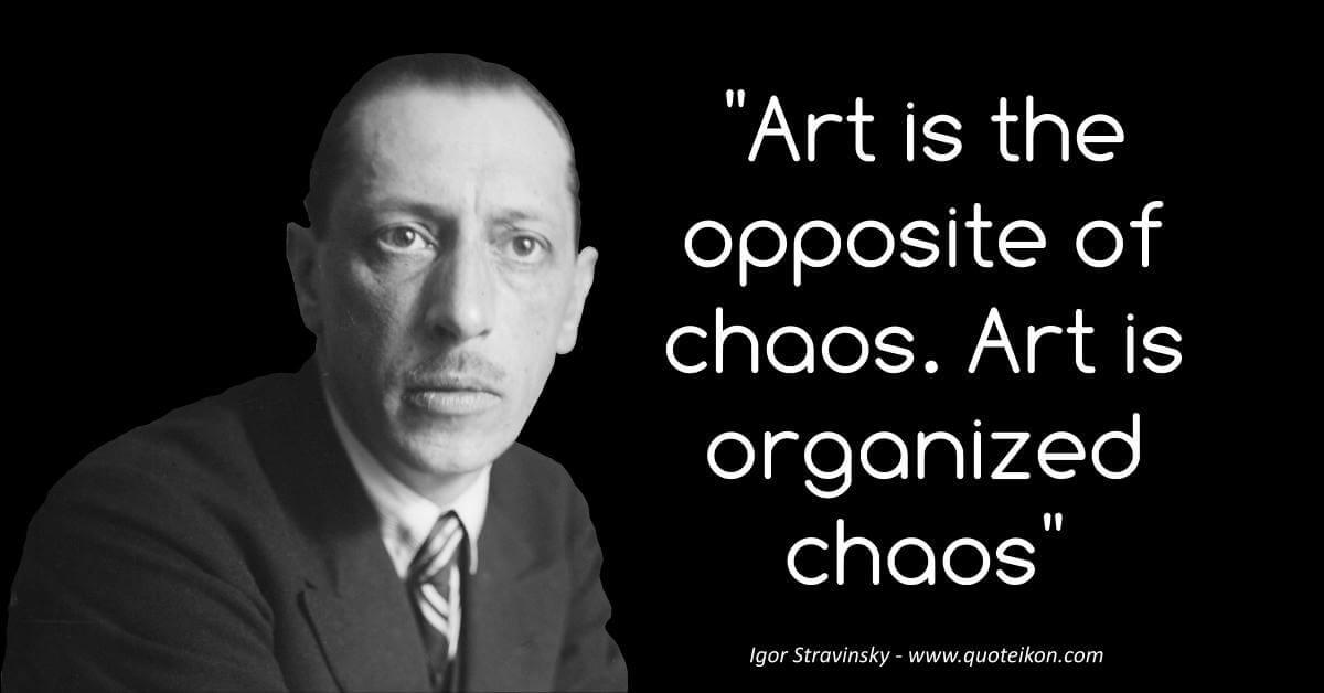 Igor Stravinsky image quote