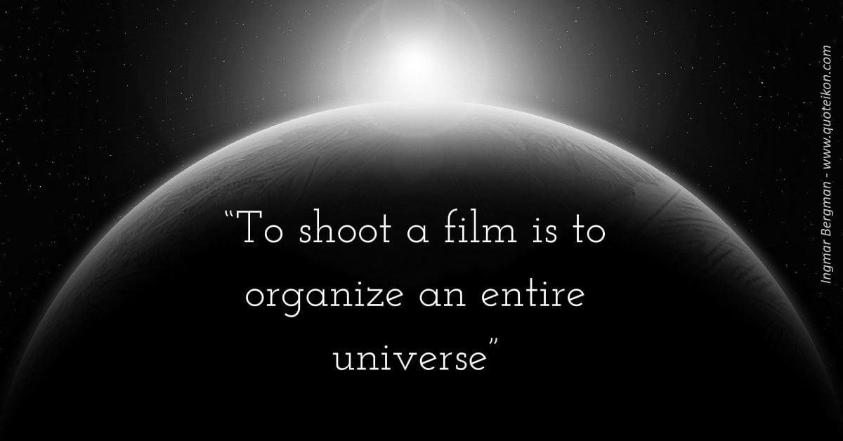 Ingmar Bergman Quote