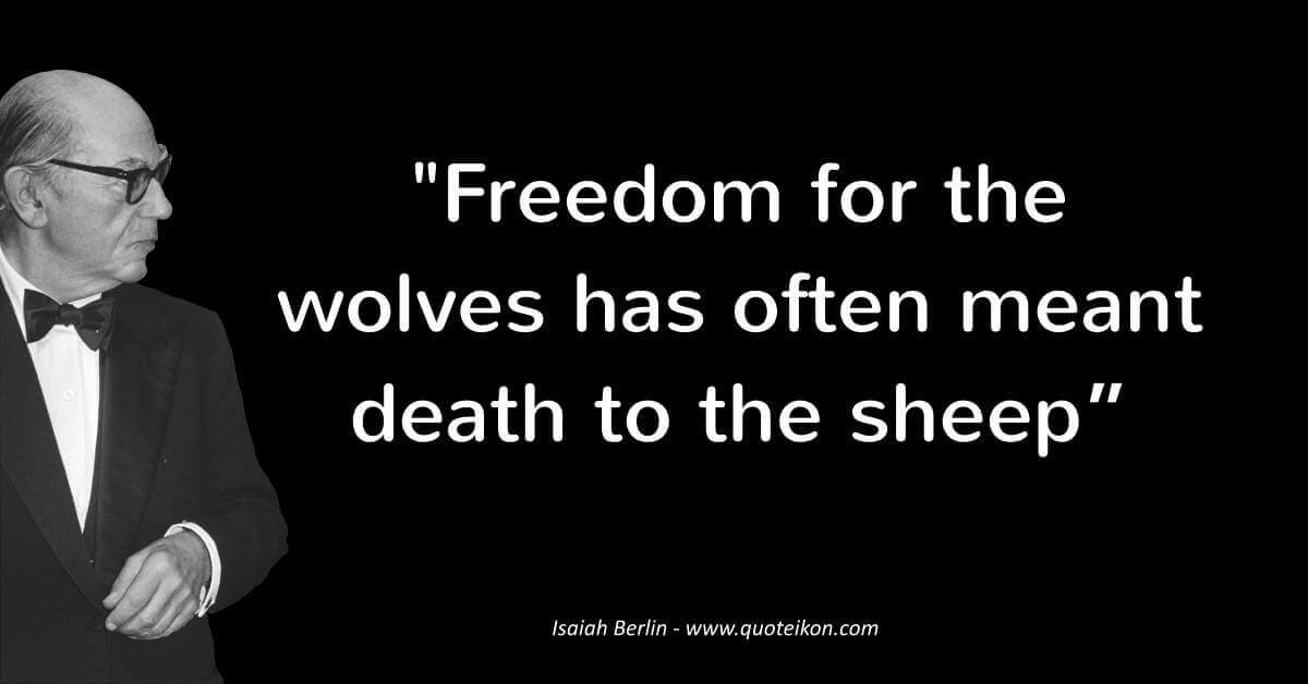 Isaiah Berlin  image quote