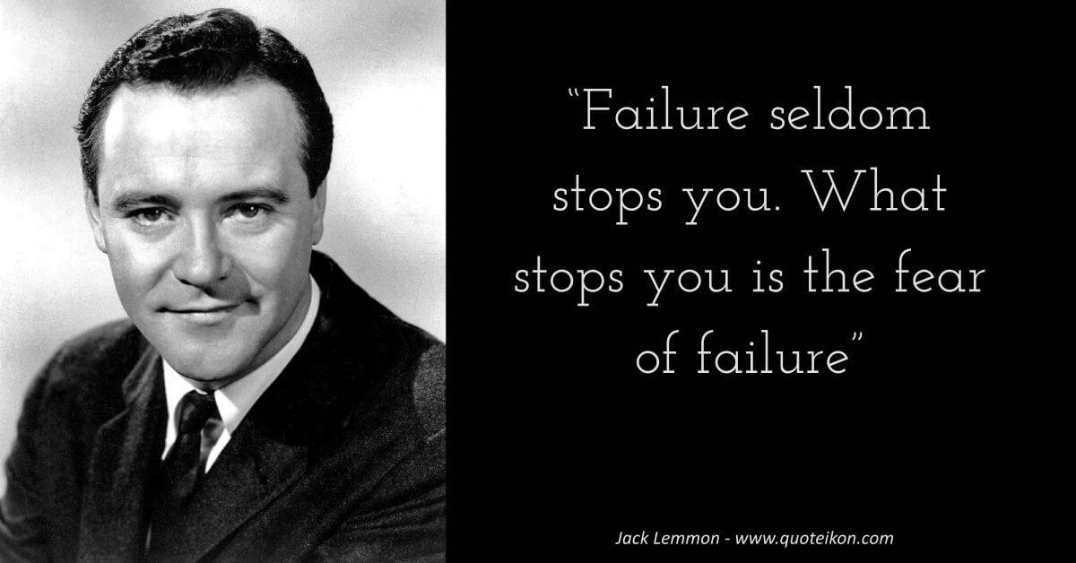 Jack Lemmon image quote