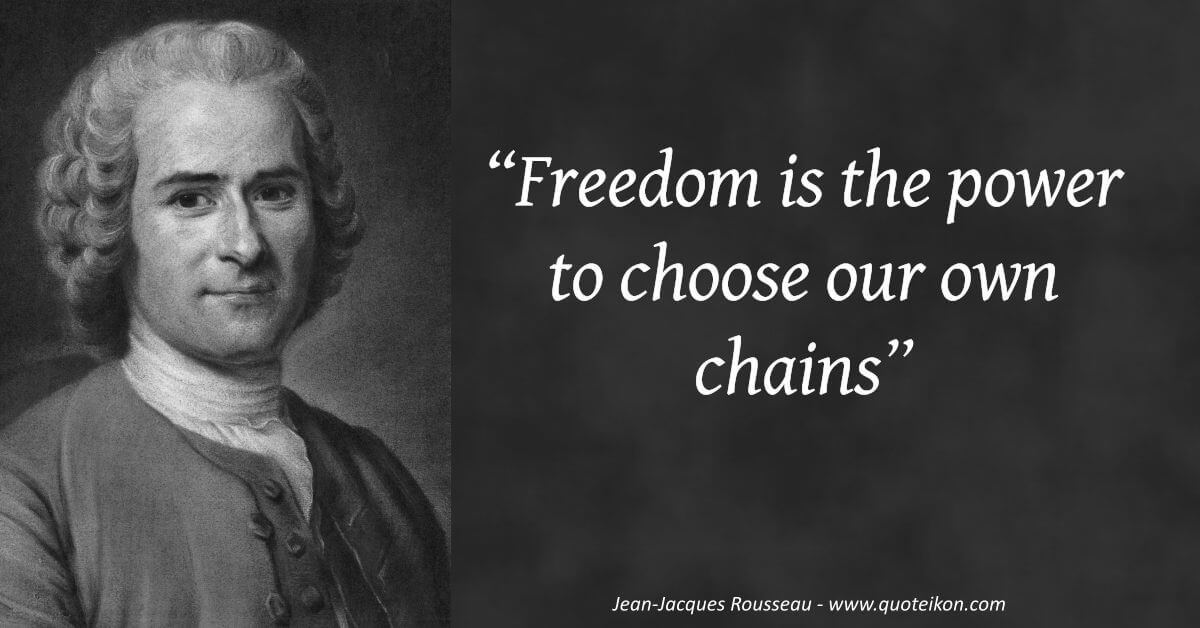 Jean Jacques Rousseau image quote