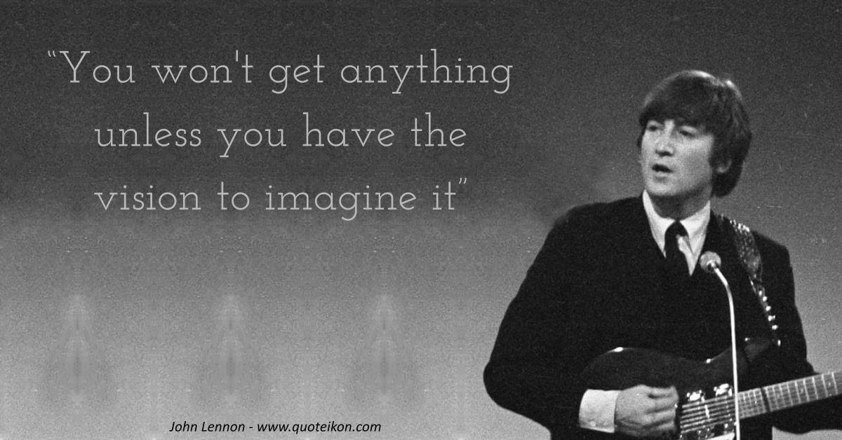 John Lennon image quote