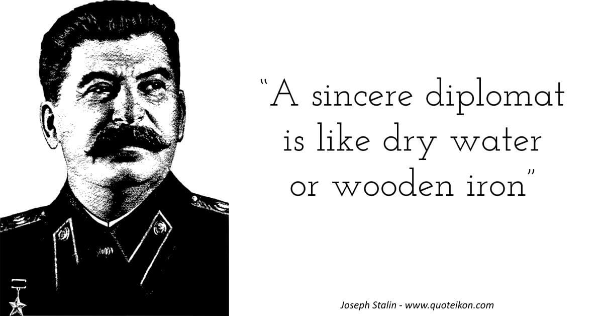 Joseph Stalin image quote
