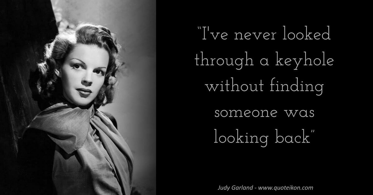 Judy Garland image quote