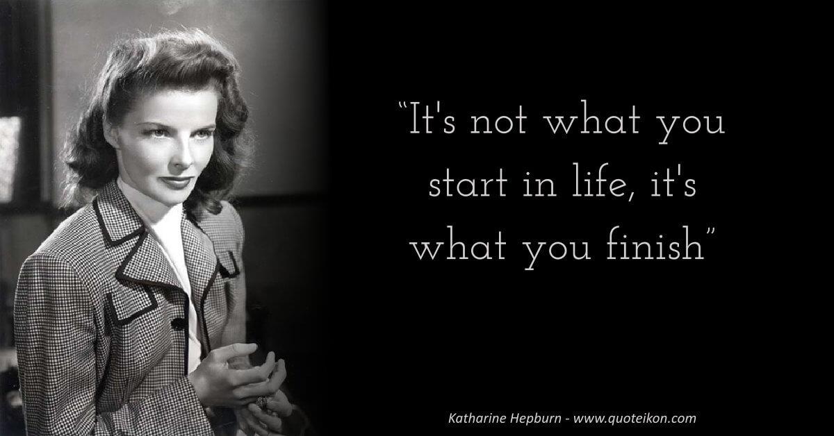 Katharine Hepburn image quote