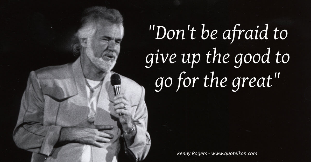 Kenny Rogers image quote