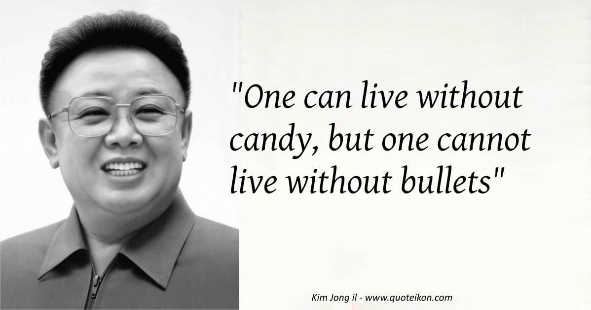 Kim Jong il image quote