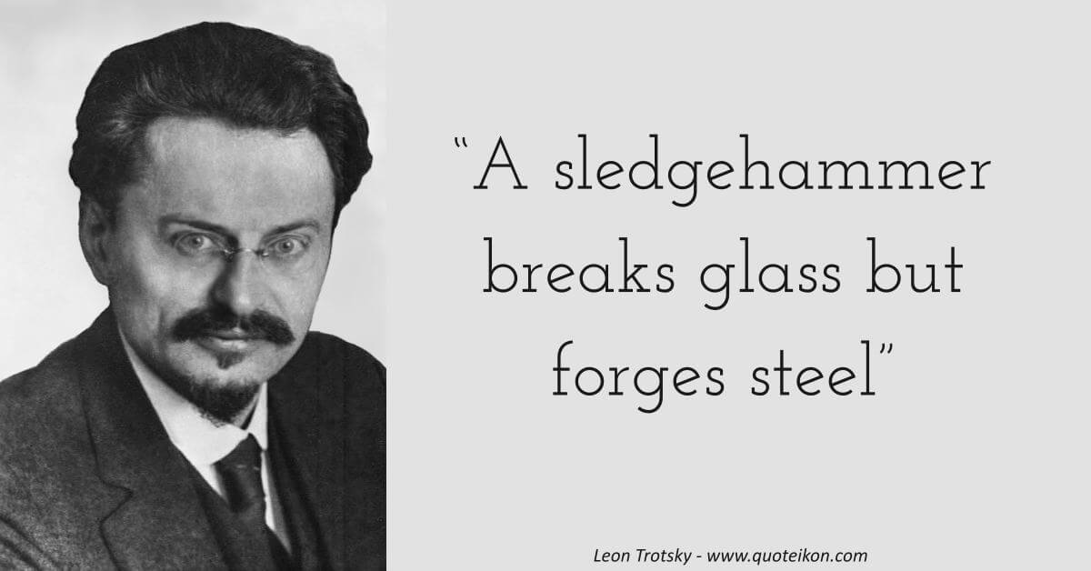 Leon Trotsky image quote