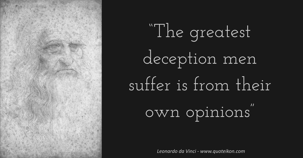 Leonardo da Vinci image quote