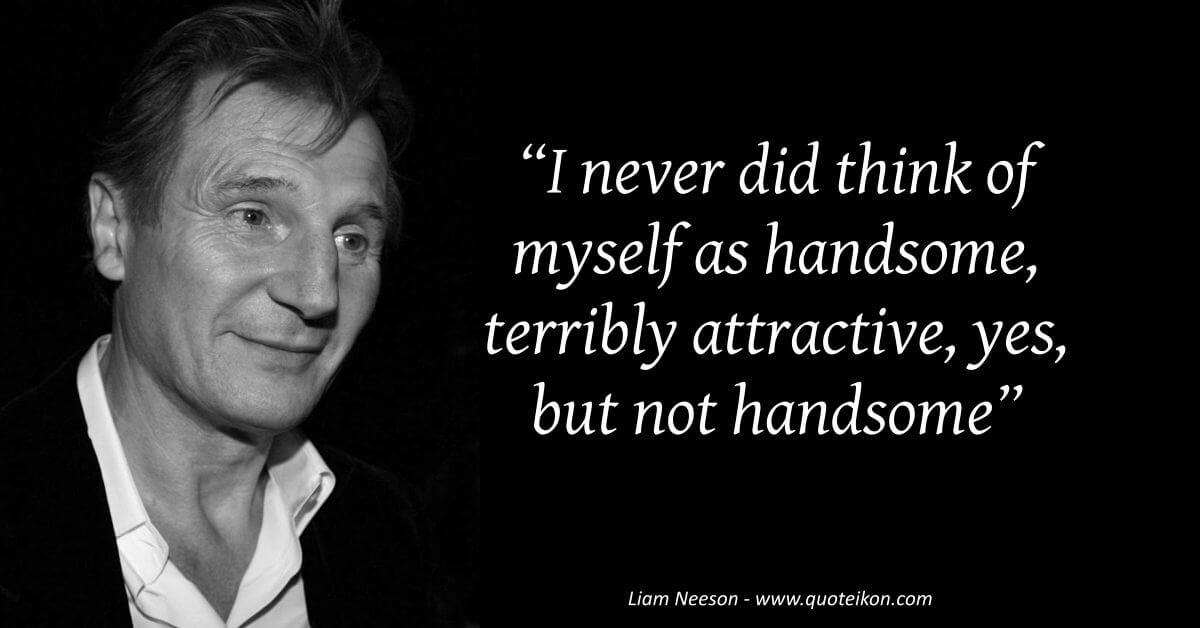 Liam Neeson image quote