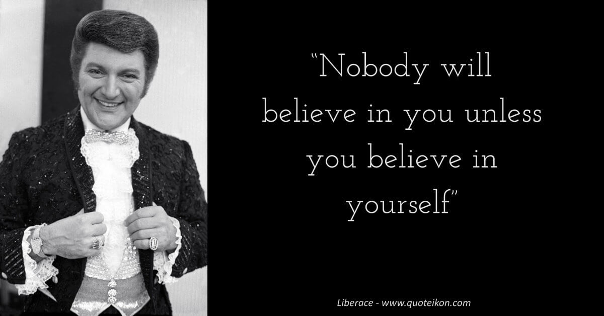 Liberace image quote