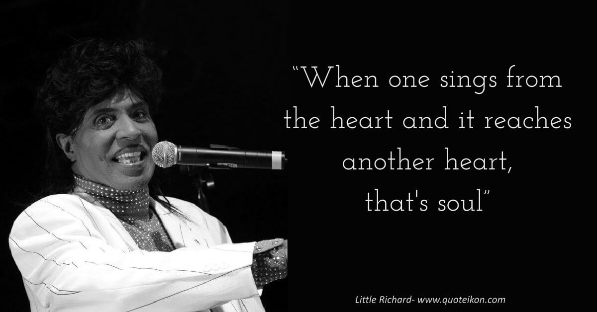 Little Richard image quote