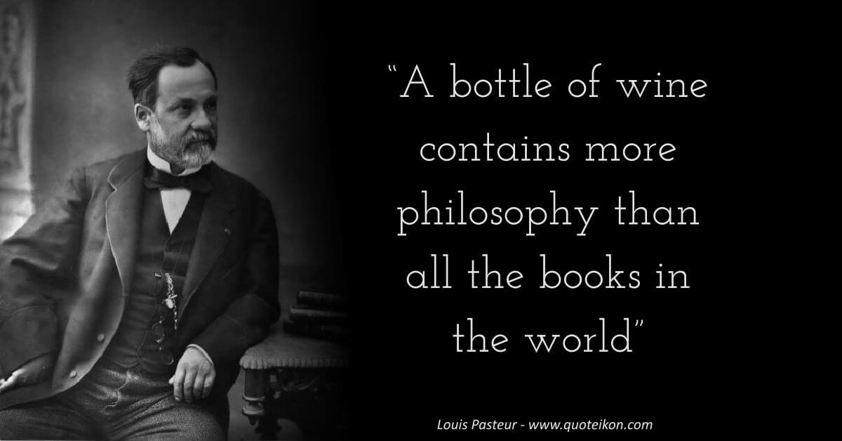 Louis Pasteur image quote