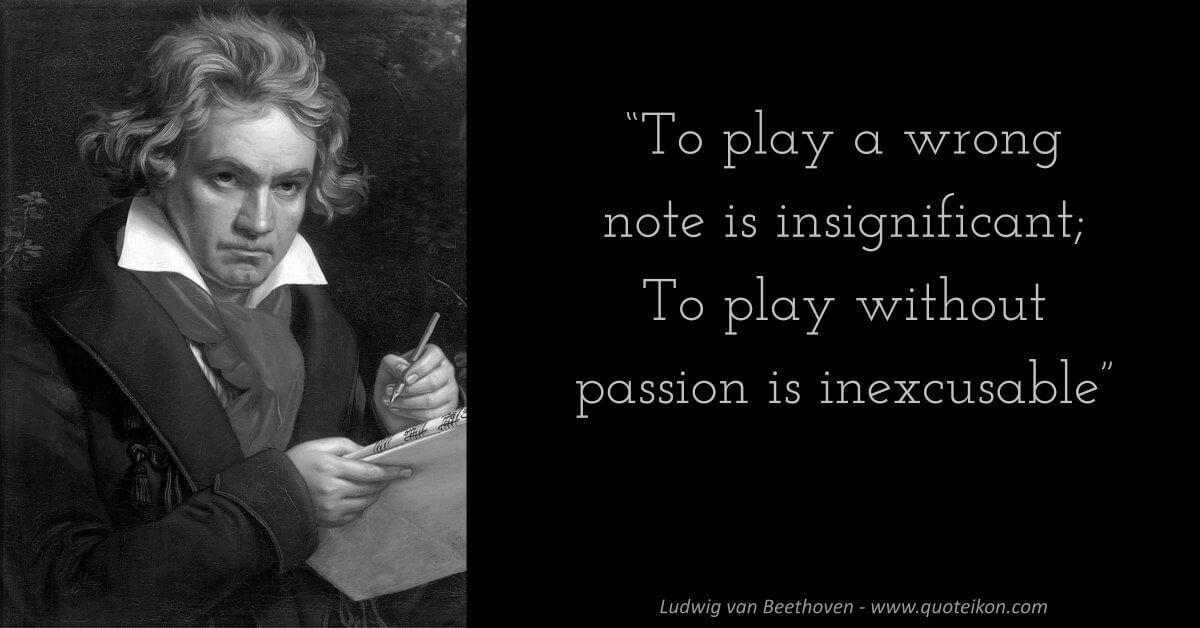 Ludwig van Beethoven image quote