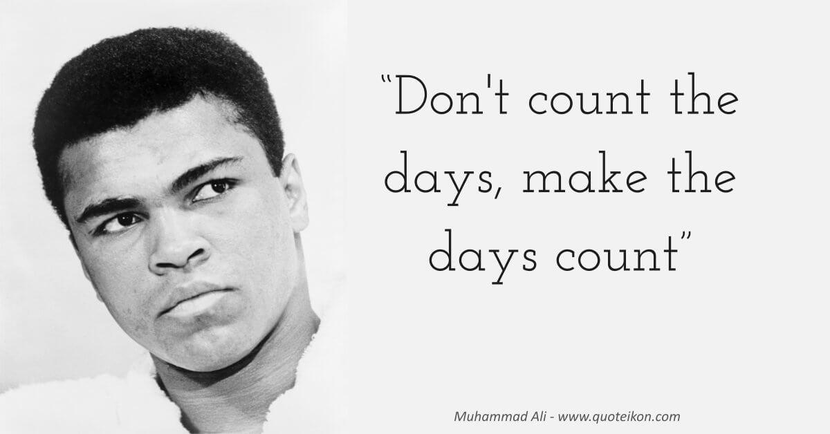 Muhammad Ali image quote