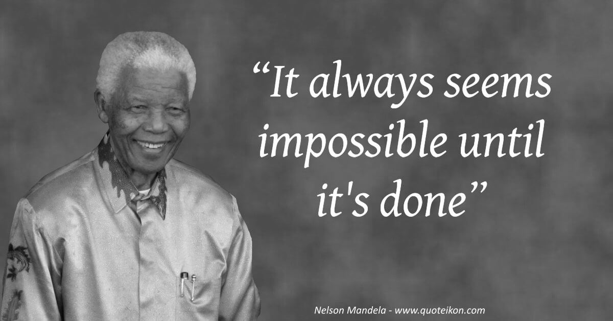 10 Of The Best Quotes By Nelson Mandela Quoteikon
