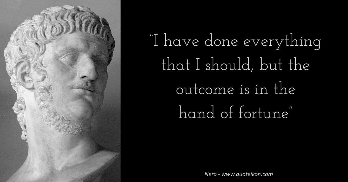 Nero quote