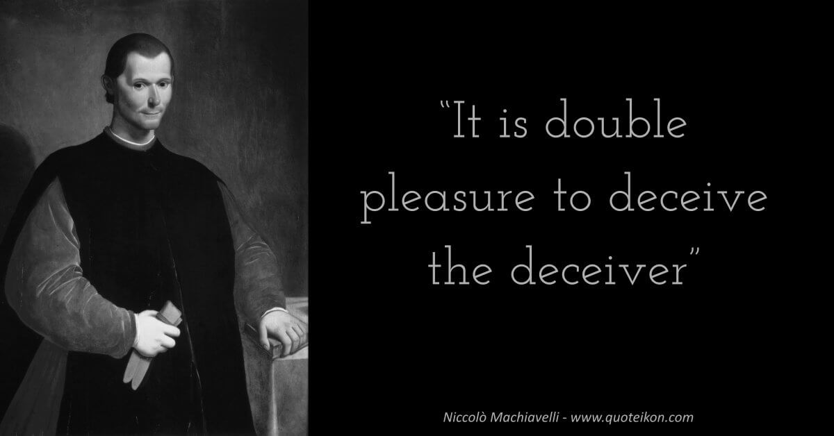 Niccolò Machiavelli quote