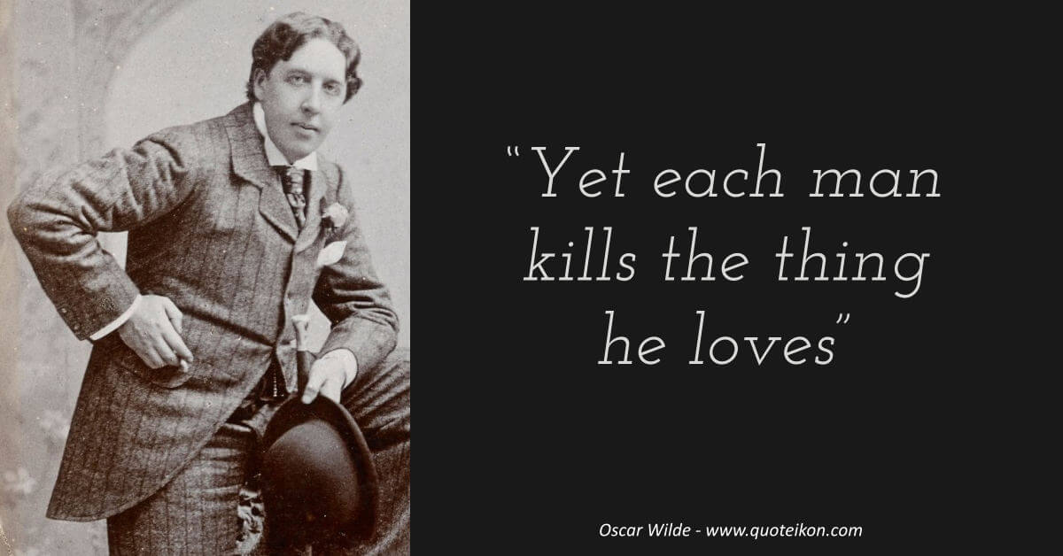 Oscar Wilde image quote