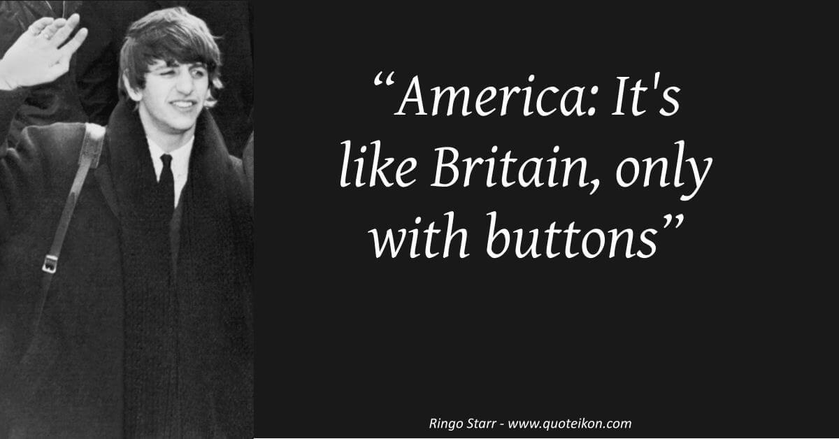 Ringo Starr image quote