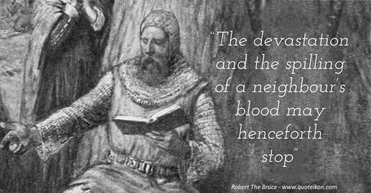 Robert The Bruce image quote