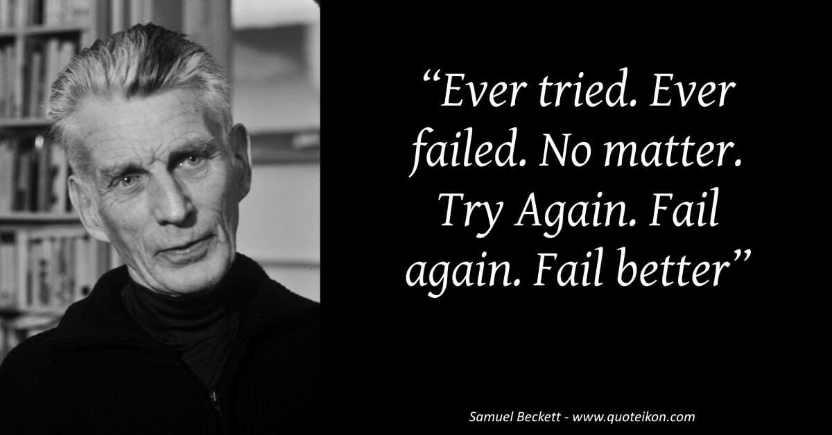 Samuel Beckett  image quote