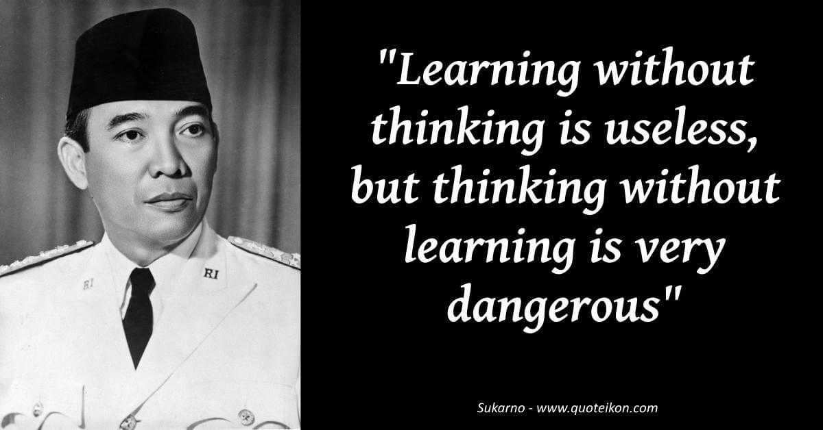 Sukarno  image quote