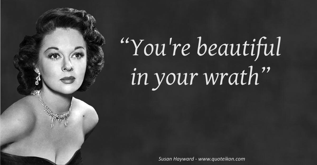 Susan Hayward  image quote
