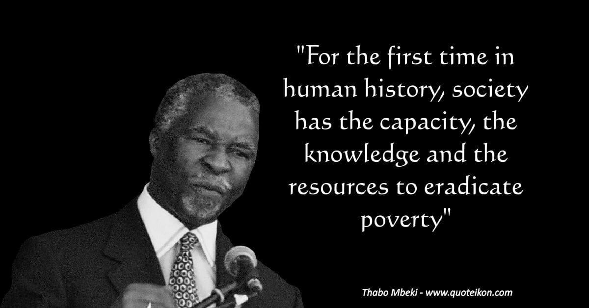 Thabo Mbeki image quote