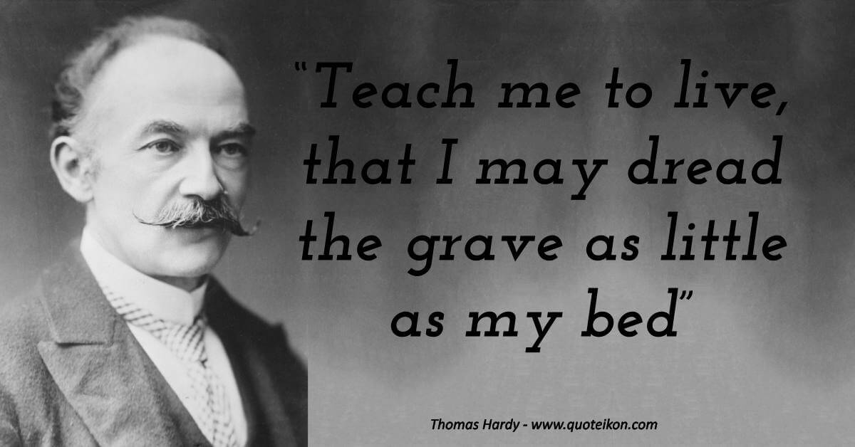 12 of the Best Quotes By Thomas Hardy | Quoteikon