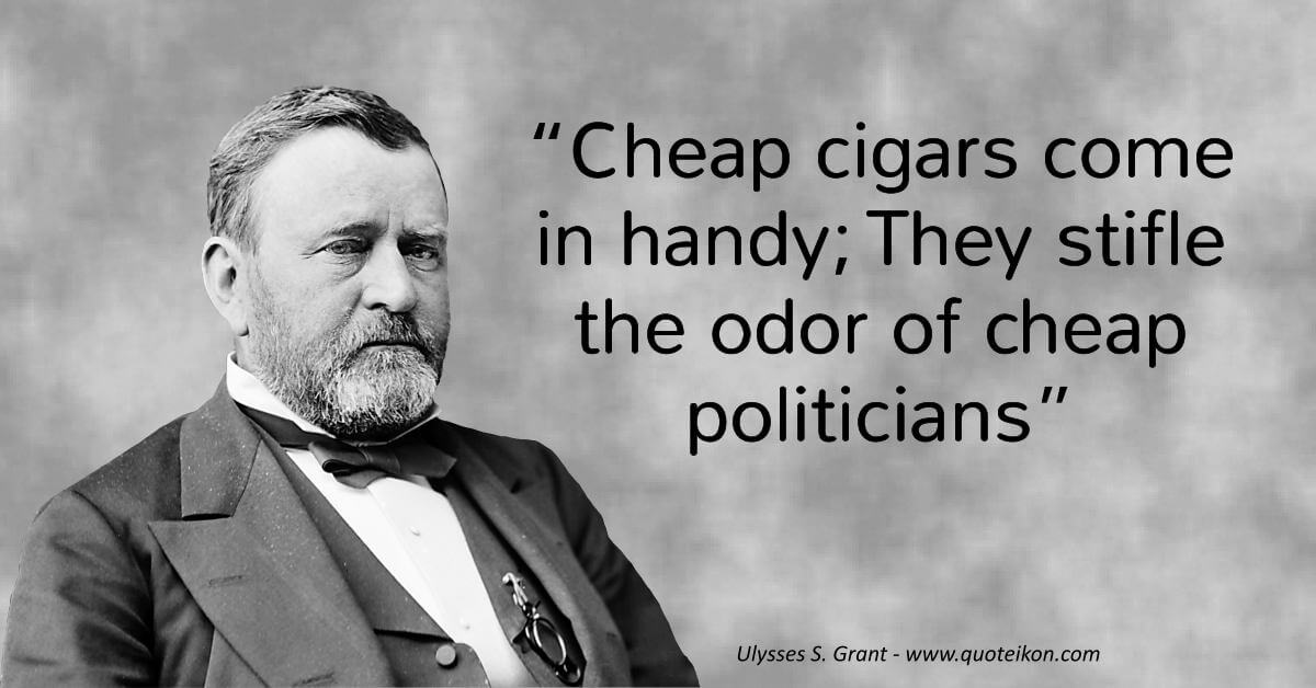 Ulysses S. Grant  image quote