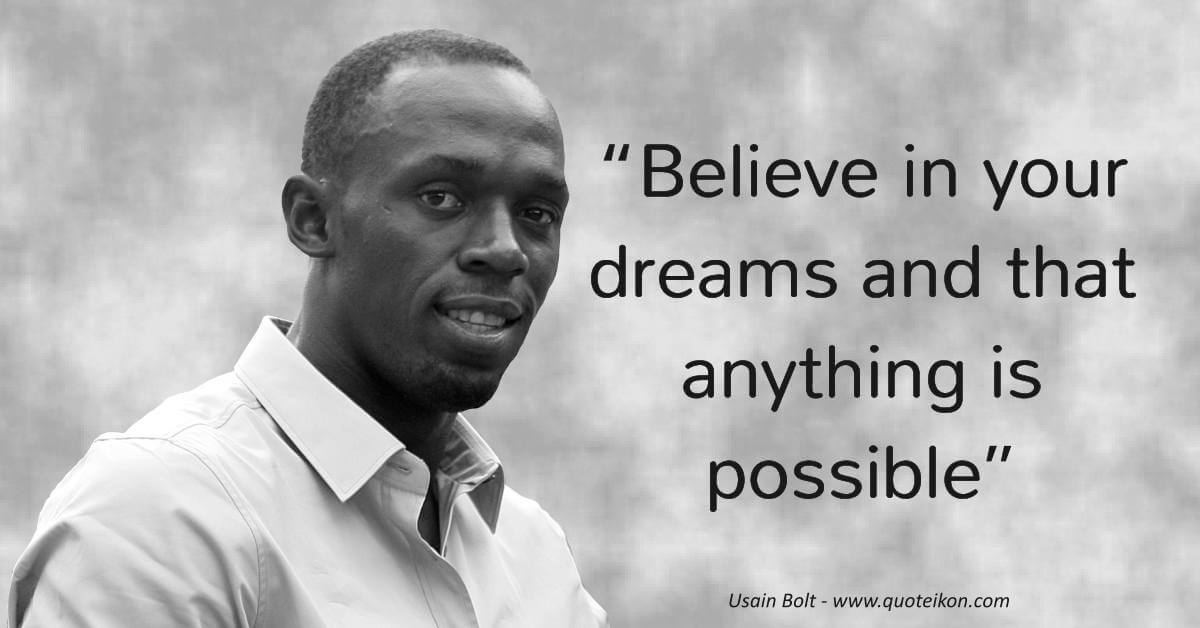 Usain Bolt  image quote