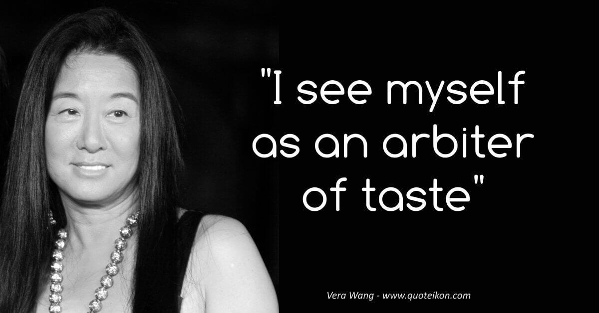 Vera Wang image quote
