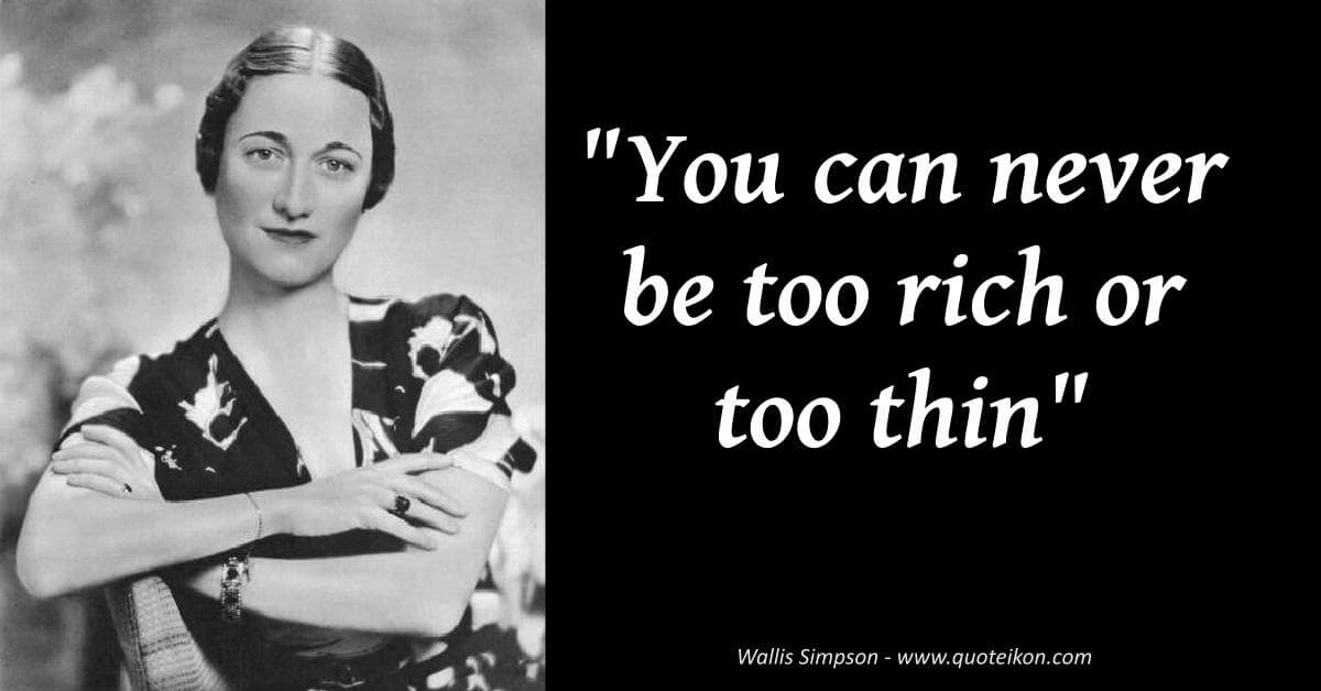 Wallis Simpson image quote