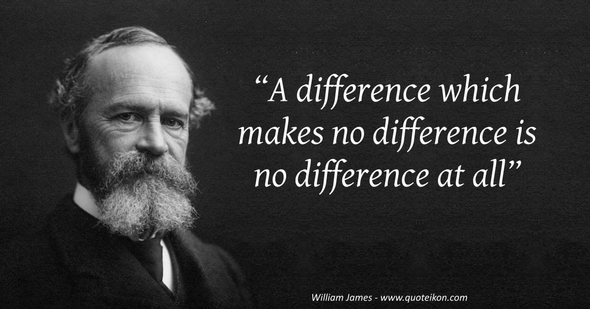 William James image quote