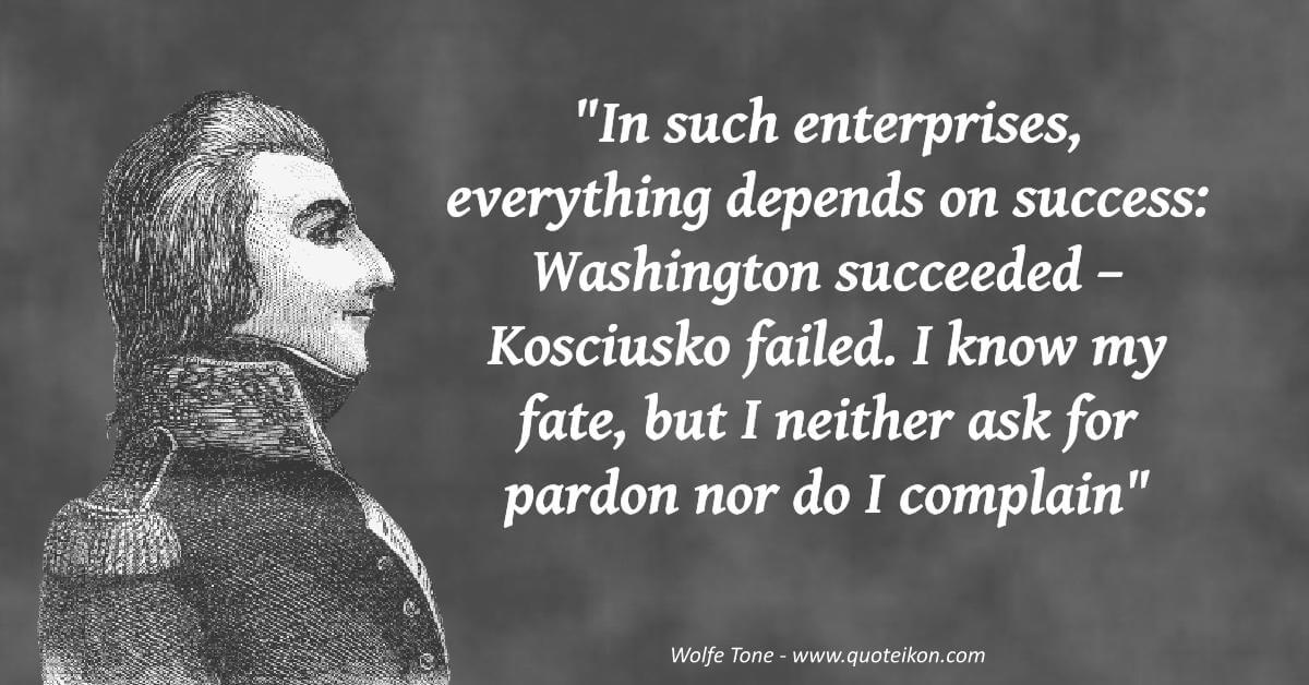 Wolfe Tone image quote