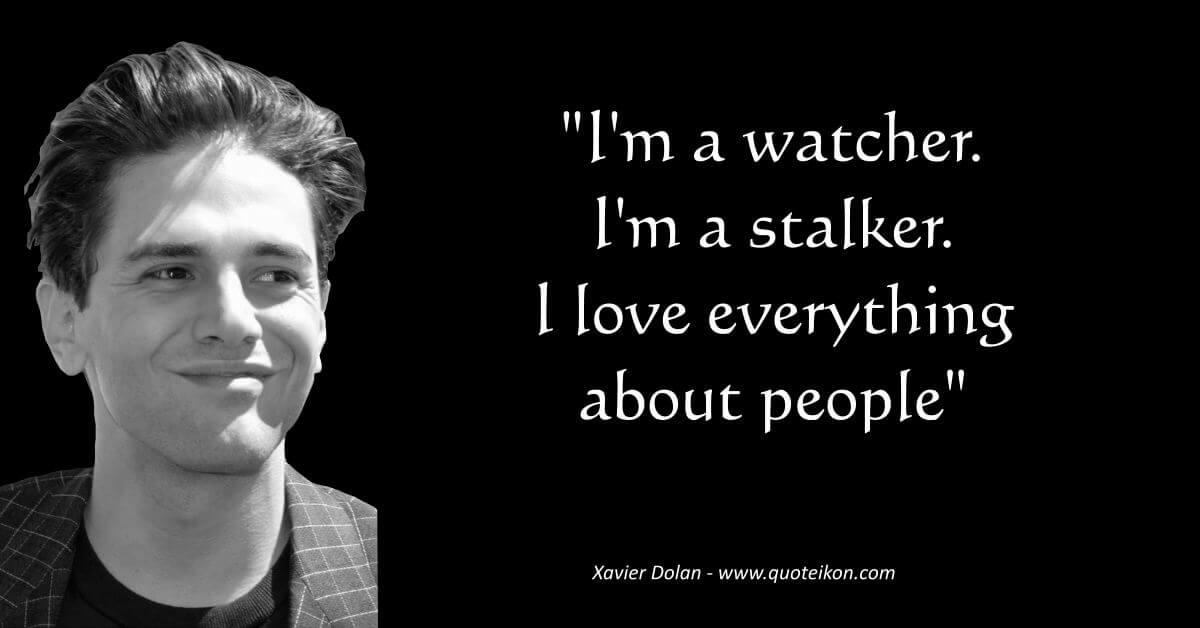 Xavier Dolan image quote
