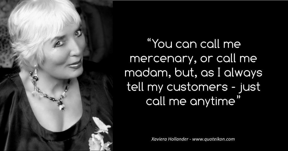 Xaviera Hollander image quote